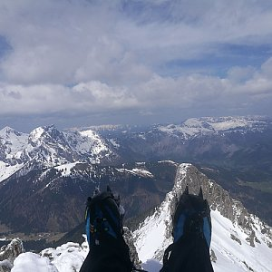 martenzites na vrcholu Stadelstein (1.5.2019 14:00)