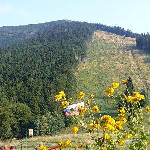 """Zdeněk """"DrakMrak"""" na vrcholu Grúň (27.8.2011 16:30)"""