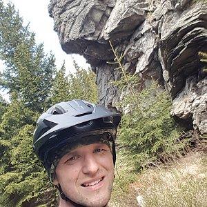 Jarda na vrcholu Žárový vrch (10.5.2020 12:50)