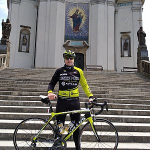 Vítězslav Vrána na vrcholu Hostýn (7.5.2020 12:14)