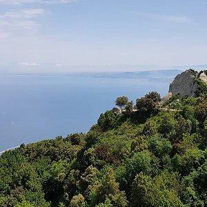 Marek Feest na vrcholu Monte Epomeo (6.6.2019 11:30)