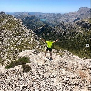 Pospa na vrcholu Puig de Massanella (2.6.2019 12:55)