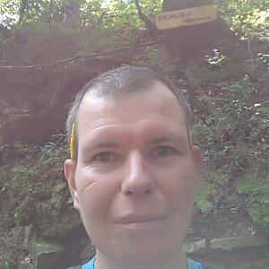 Michal Krčmář na vrcholu Skalka (na Pustevnách) (28.7.2019 11:03)