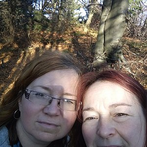 Alžběta Šlosarová na vrcholu Skalka (na Pustevnách) (26.10.2019 9:30)