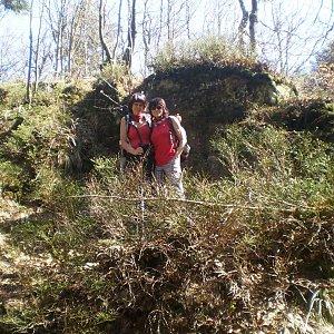 Vlasta a Zdena na vrcholu Skalka (na Pustevnách) (21.4.2018 9:23)