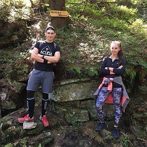 Antonie na vrcholu Skalka (na Pustevnách) (15.9.2019 12:30)
