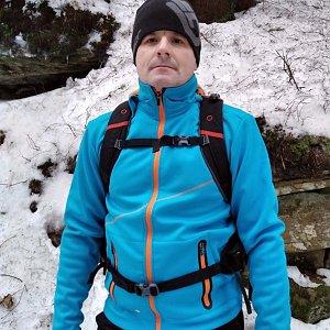 Vítězslav Vrána na vrcholu Skalka (na Pustevnách) (18.1.2020 18:07)