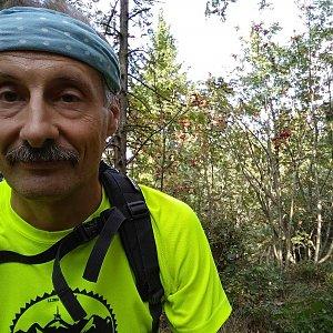 Jiří Sumbal na vrcholu Skalka (na Pustevnách) (18.8.2018 17:04)