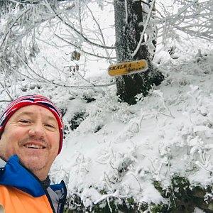 CERF1971 na vrcholu Skalka (na Pustevnách) (9.1.2021 11:02)