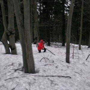 Kemo na vrcholu Skalka (na Pustevnách) (3.2.2019 12:35)