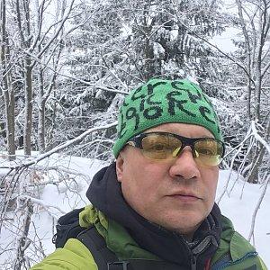 Pery na vrcholu Skalka (na Pustevnách) (11.2.2019 12:48)