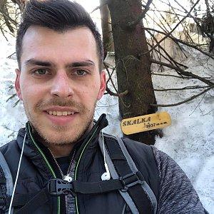 Pospa na vrcholu Skalka (na Pustevnách) (17.2.2019 11:58)
