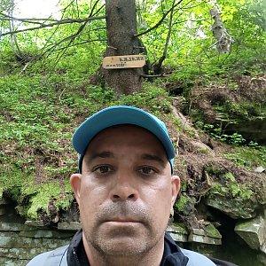Milan Mižikár na vrcholu Skalka (na Pustevnách) (17.6.2021 13:36)