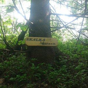 ŠenovKK na vrcholu Skalka (na Pustevnách) (10.6.2019 15:52)