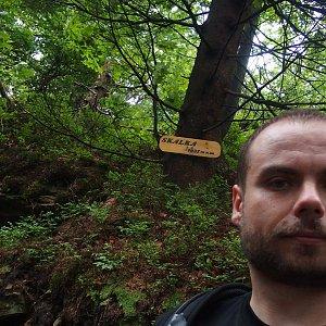 Jiří Chmiel na vrcholu Skalka (na Pustevnách) (22.6.2019 13:27)