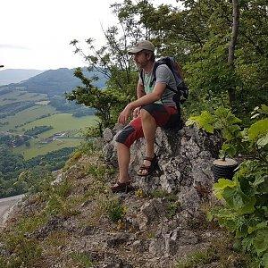 Marcela Kubíčková na vrcholu Kotouč  (12.6.2021 13:41)