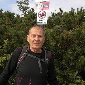 MUDr.Svatopluk Kunčar na vrcholu Kepa (16.8.2019 9:03)