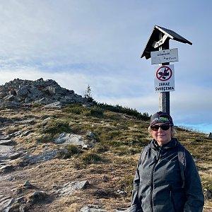 Magda na vrcholu Kepa (17.11.2020 11:56)