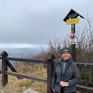 Magda na vrcholu Sokolica (17.11.2020 11:19)