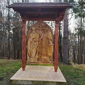 ŠenovKK na vrcholu Metylovická hůrka - Čupek (2.1.2021 11:09)