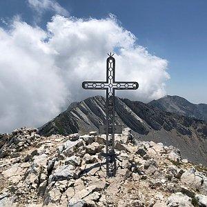 martenzites na vrcholu Cima Valdritta (6.7.2019 13:30)