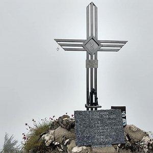 Léňa Manová na vrcholu Gaisberg (3.8.2020 12:38)