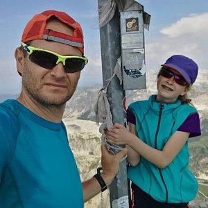 ZetBé na vrcholu Boeseekofel  (26.7.2019 12:05)