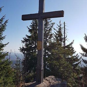 Marek Feest na vrcholu Siebensteinkopf (27.10.2019 10:39)
