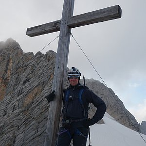 Patejl na vrcholu Dachsteinwarte (4.8.2019 18:04)