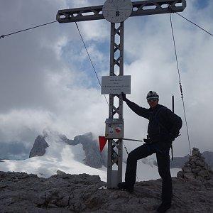 Patejl na vrcholu Hoher Gjaidstein (4.8.2019 14:12)