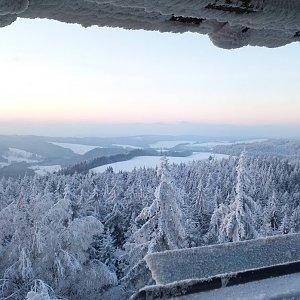 Dolfa na vrcholu Čáp (2.12.2020 18:35)