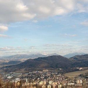 Iva Purmenská na vrcholu Bílá hora (15.2.2020 15:00)