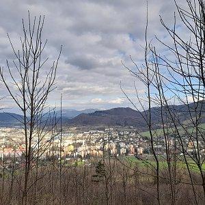 Milan Meravy na vrcholu Bílá hora (4.4.2021 19:53)