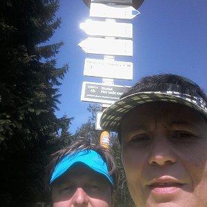 ROSA na vrcholu Javorový vrch (28.7.2019 10:23)