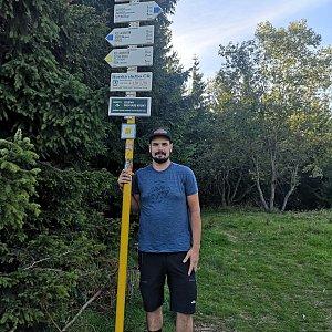 Dajik90 na vrcholu Javorový vrch (15.9.2019 16:20)