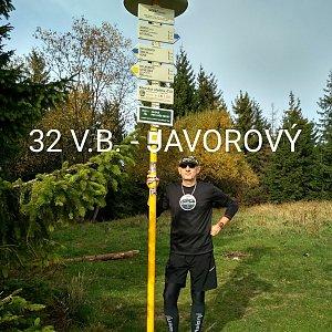 Aleš Sýkora na vrcholu Javorový vrch (19.10.2019 11:10)
