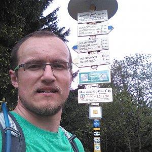 pa3k.soyka na vrcholu Javorový vrch (8.5.2018 11:12)