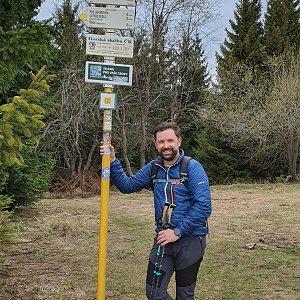 Radoss na vrcholu Javorový vrch (25.4.2020 11:21)