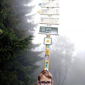Maty na vrcholu Javorový vrch (6.9.2020 13:31)
