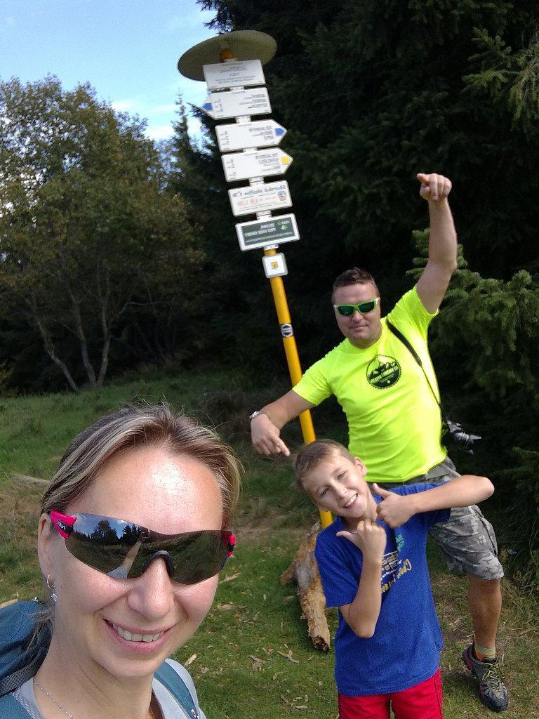 filipka na vrcholu Javorový vrch (9.9.2018 12:54)