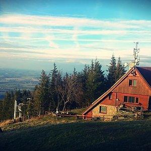 Pajulka na vrcholu Javorový vrch (7.1.2018 13:11)
