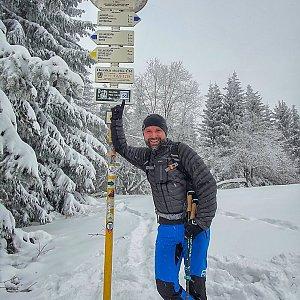 Radoss na vrcholu Javorový vrch (16.1.2021 10:36)