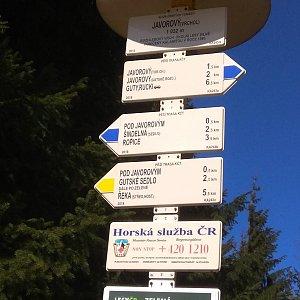 Renča Šin na vrcholu Javorový vrch (25.4.2019 9:52)