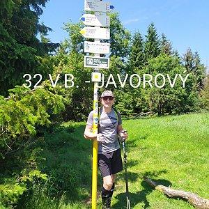 Aleš Sýkora na vrcholu Javorový vrch (4.7.2021 12:21)