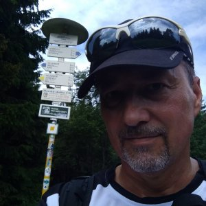 Merkys na vrcholu Javorový vrch (5.7.2021 10:29)