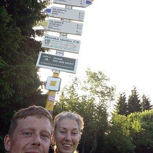 Libor Toufar na vrcholu Javorový vrch (30.6.2019 18:34)