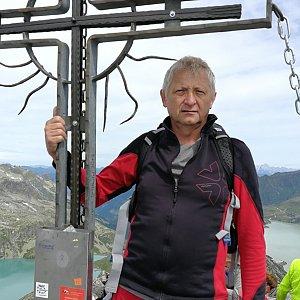 Pepino na vrcholu Medelzkopf  (15.8.2019 11:35)