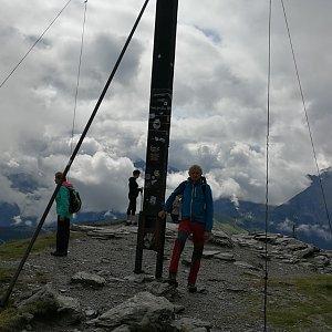 Pepino na vrcholu Konigsleitenspitze  (16.8.2019 10:08)