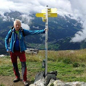 Pepino na vrcholu Falschriedel  (16.8.2019 10:50)
