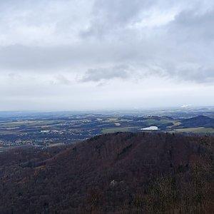 Karolína Moravcova na vrcholu Červený kámen (4.2.2021 15:13)